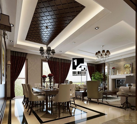 Luxury Home Interior Design: Modern Chinese Interior Design