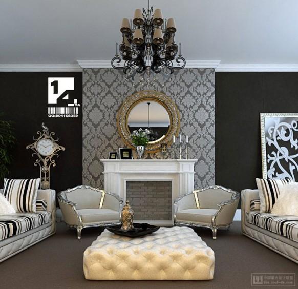 klassische asiatische interior-design