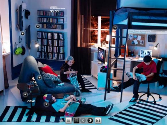 Coole Blaue Zimmer