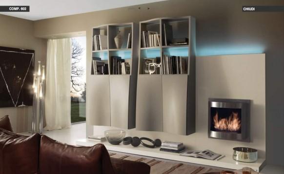 eclectic-Wohnzimmer