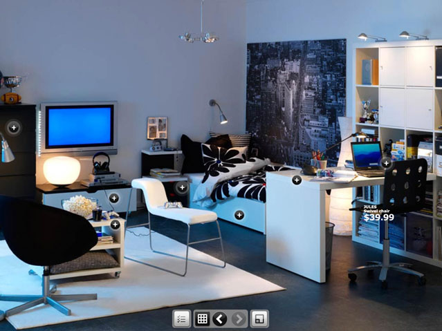 dorm room inspirations from ikea. Black Bedroom Furniture Sets. Home Design Ideas