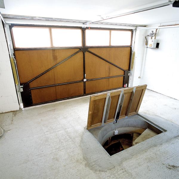 Garage cellar