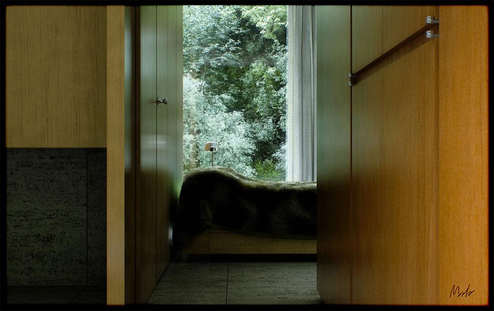 Home interior render