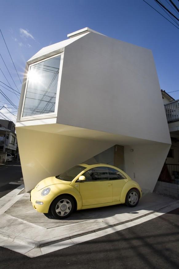 mineral-Haus von außen