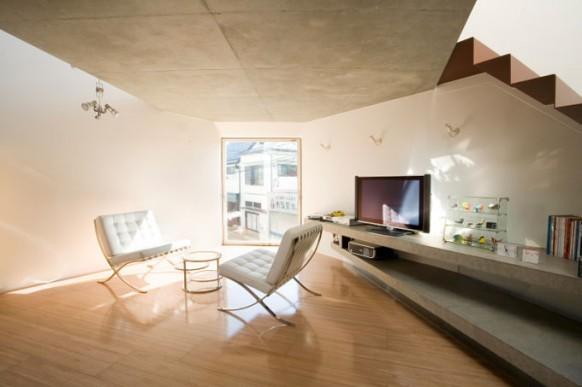 mineral-Haus Innenraum