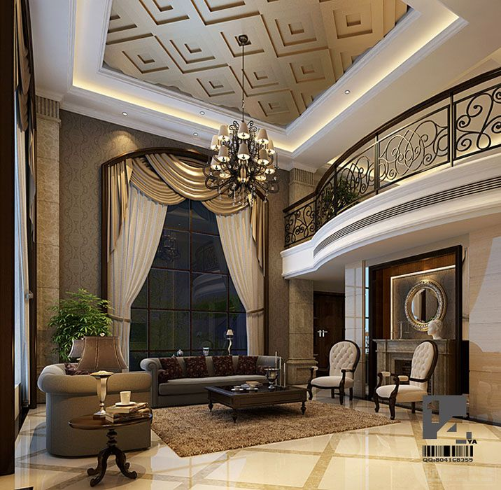 Luxury Living Room Interior Design Ideas: Modern Chinese Interior Design