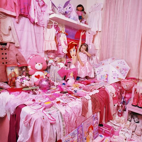 rosa schüchterne Prinzessin Zimmer