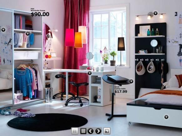 Zimmer mit laptop-stand