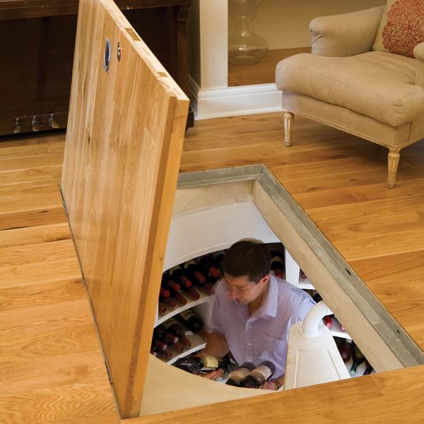 Home Design Ideas Youtube: Trap Door Wine Cellar Designs