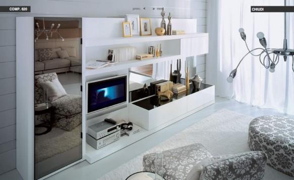 weiß-verspiegelt-Wohnzimmer