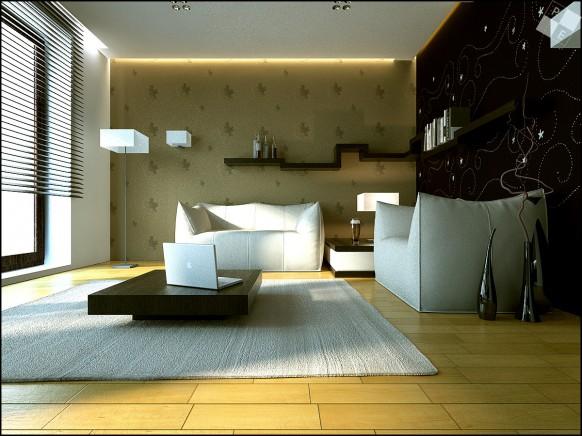 chic Wohnzimmer