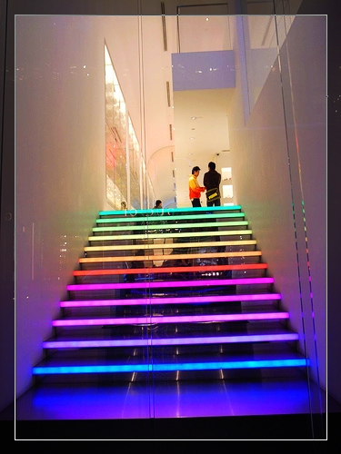 bunte Treppen