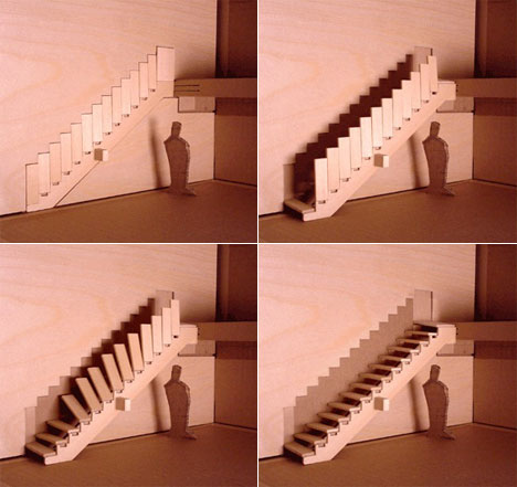 verschwinden Treppe