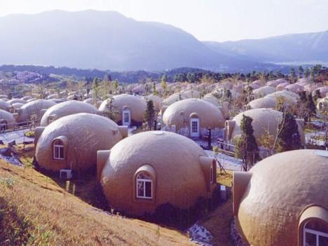 Kuppeln für Häuser