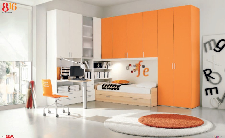 Modern Kids Room Furniture from Dielle