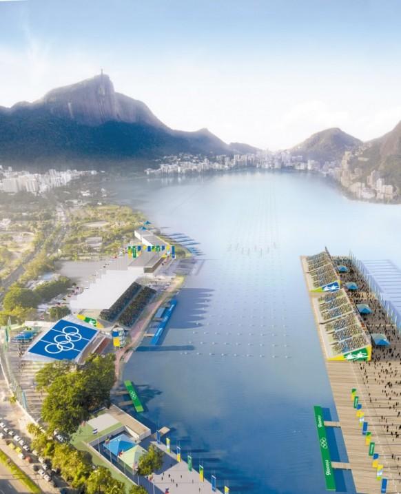 Luxus-Villa mit Blick aufwärts den Ozean