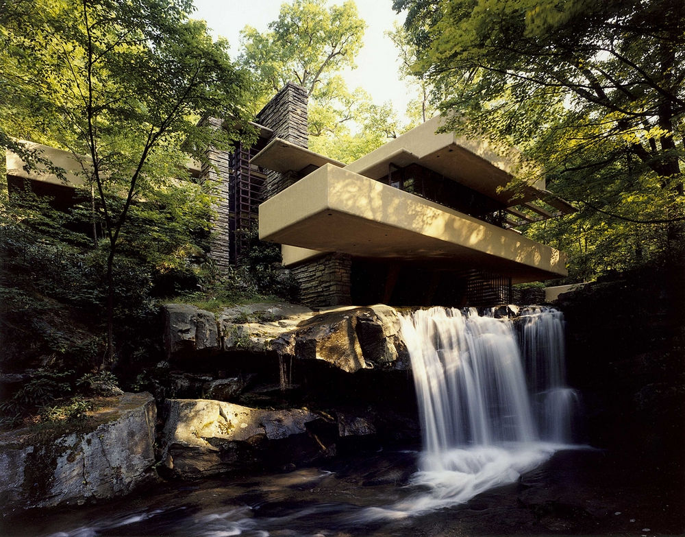 Live In Falling Water Frank Lloyd Wrights Masterpiece