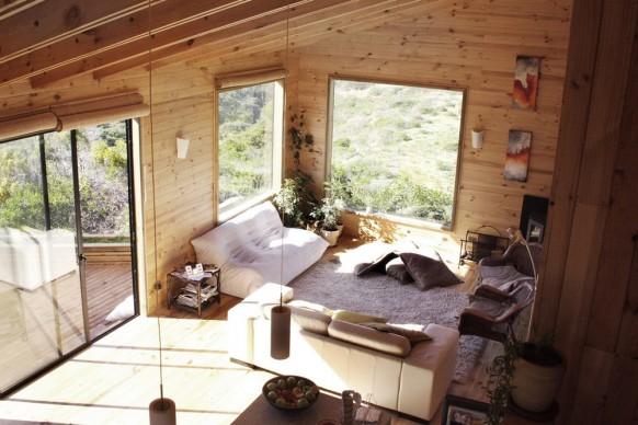 Holz-Wohnzimmer