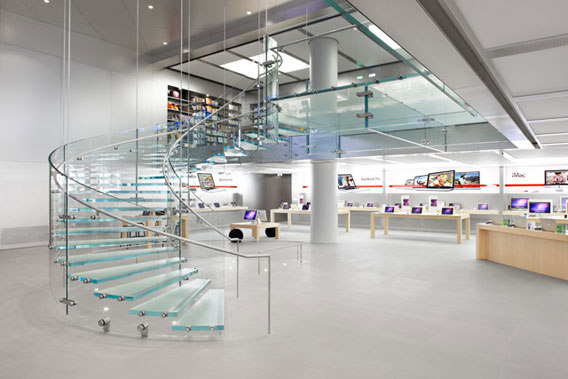 Apple-store-Innenansicht