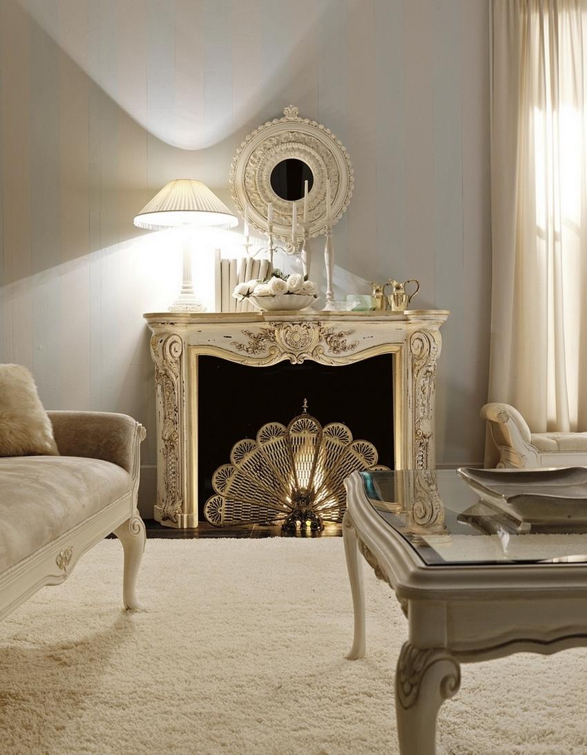classic italian fireplaces from savio firmino. Black Bedroom Furniture Sets. Home Design Ideas