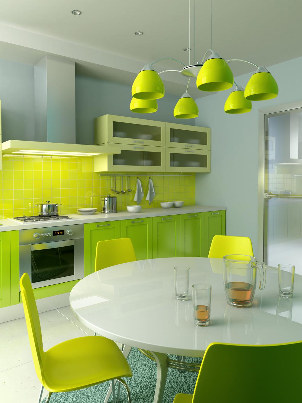 Green Kitchen: Green Kitchens