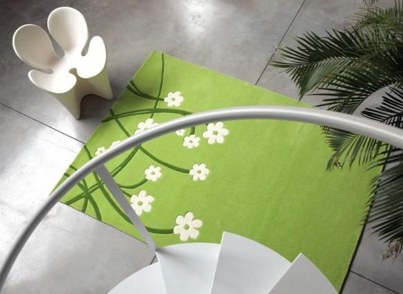 grünen-Teppich