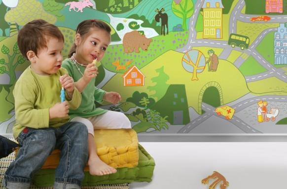 Tapeten für Kinder