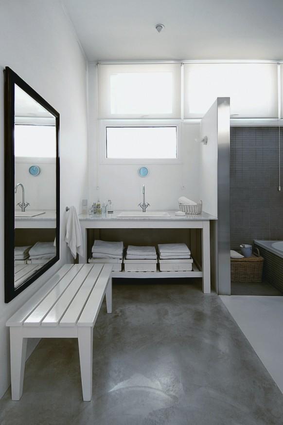 Indoor-pool-Haus - Badezimmer