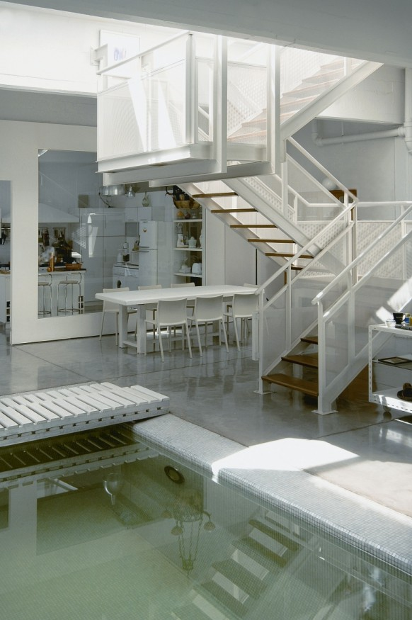 Indoor-pool house - pool-Innenseite
