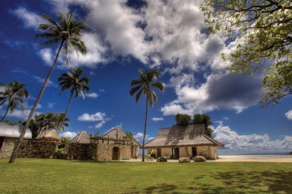 Private Island Seychellen - Eingang