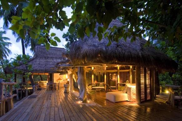 Private Island Seychellen - Abend
