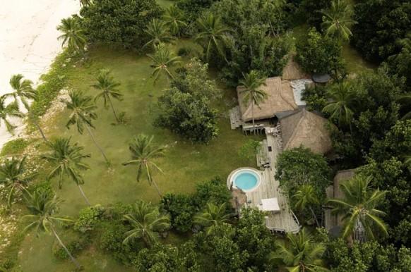 Private Island Seychelles - von oben