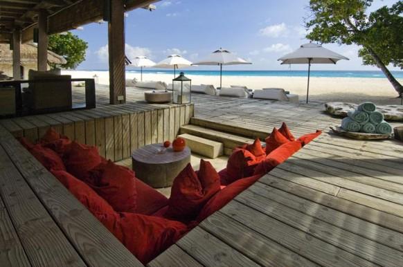 Private Island Seychellen - Sitzecke