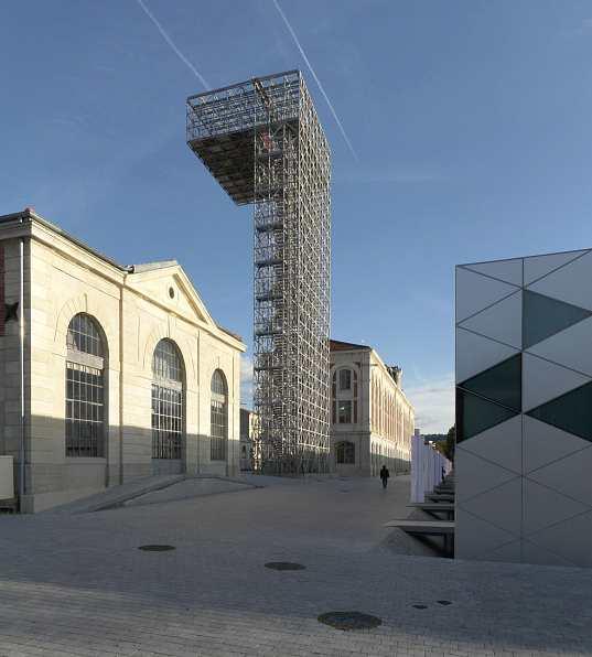 Solar powered design Zentrum - Teilansicht