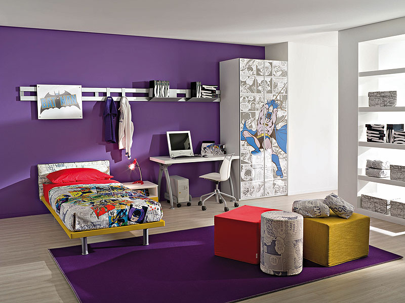 superman and batman come to your kid s rooms rh home designing com