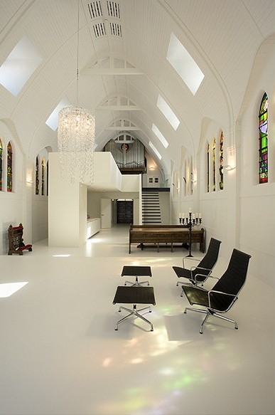 Kirche umgebaut - lounge-Bereich