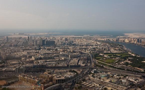 Stadt dubai - eine andere Sicht