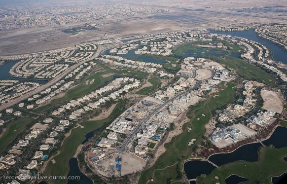 Stadt: dubai - Blick von oben