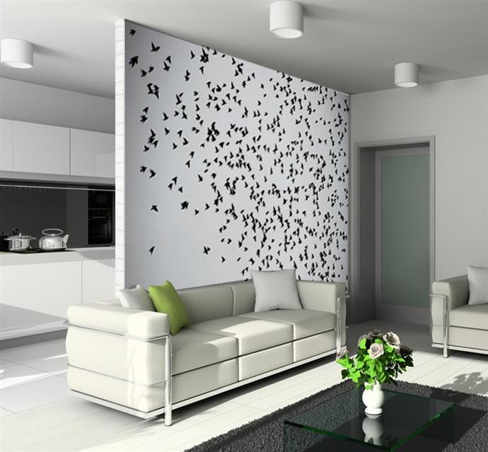 Cool wall tat flying birds