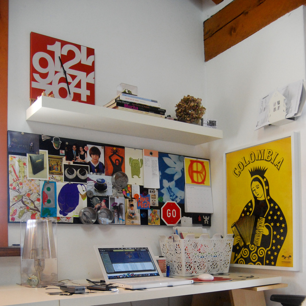Creative Homeoffice Ideas: Art & Craft Studios And Other Creative Workplaces