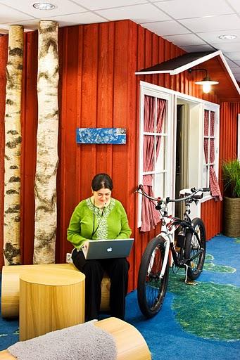google stockholm office - durch das Haus