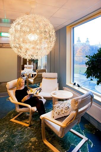 google stockholm office - informelle Diskussion-Bereich