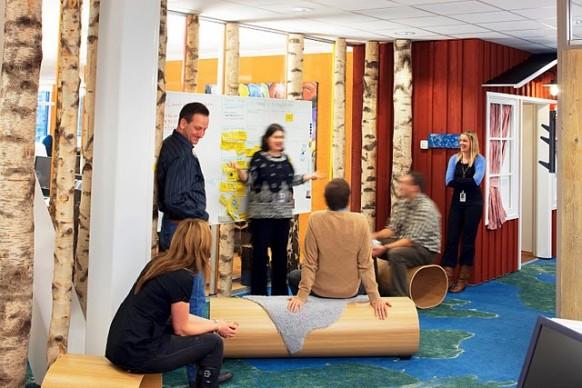 google stockholm office - meeting