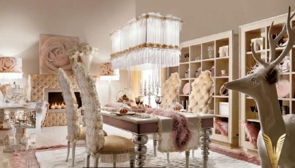 luxuriöses-Interieur - Ess-Bereich