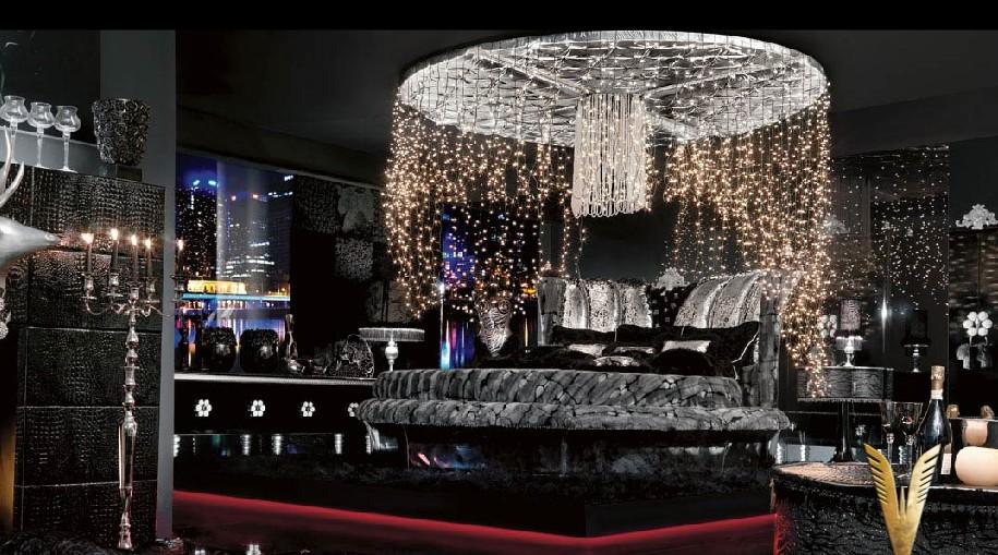 Luxurious interiors ultra chic room