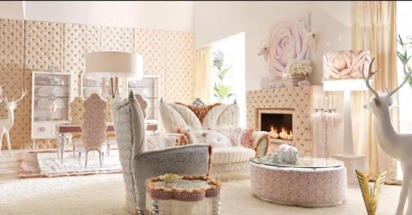 luxuriöses-Interieur-weiß-Raum
