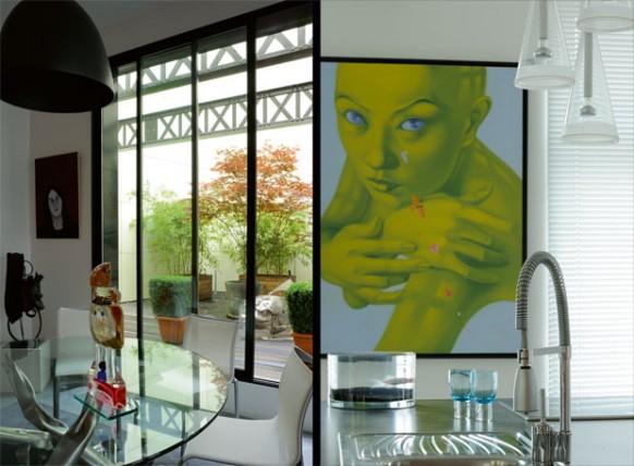 new-classic-style-loft - Kunst zu Hause
