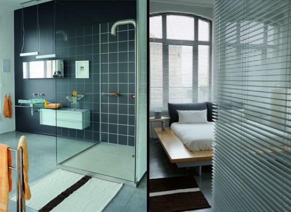 new-classic-style loft - Badezimmer