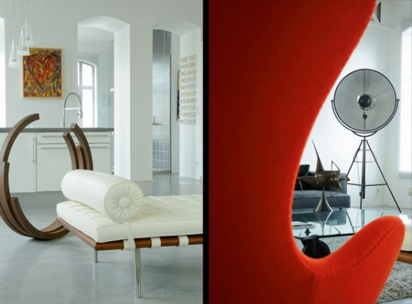 new-classic-style loft - Möbel