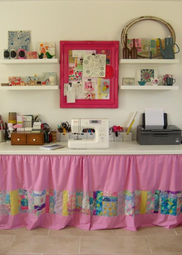 rosa Arbeitsbereich